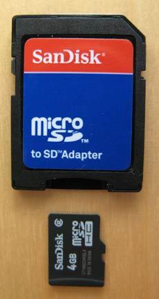 Treo MicroSD Card