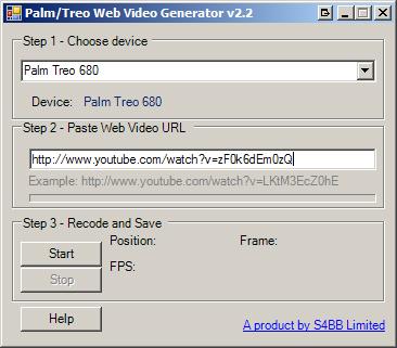 Treo Web Video Generator Software
