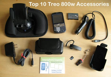 Top 10 Treo 800w Accessories