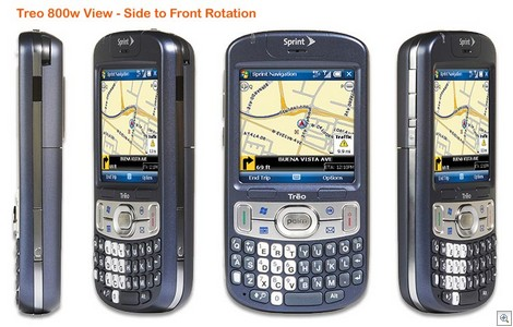 Sprint Treo 800w - Front View