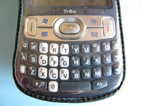Treo-800w-Glove-Fit-Case- Plastic Front