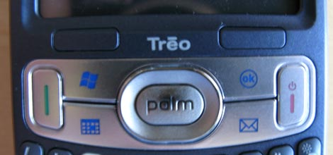 Treo 800w Navigation buttons