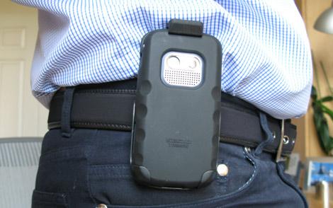 Treo 800w skin case + holster