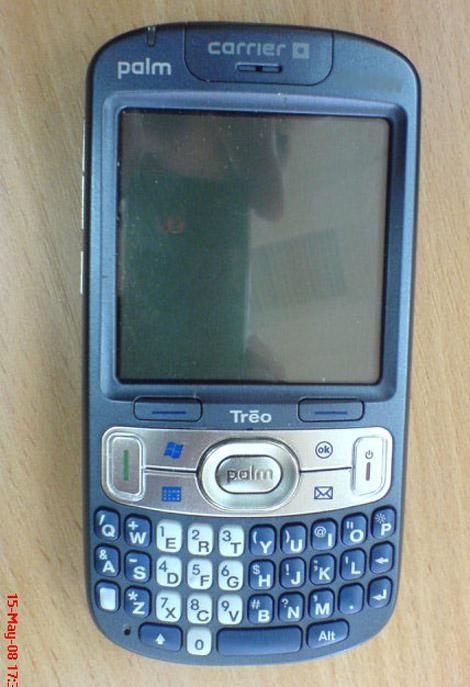 Treo 800w smartphone