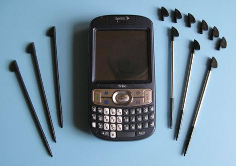 Treo 800w stylus