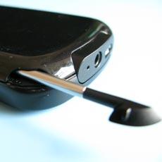 Treo Pro - Stylus Detail