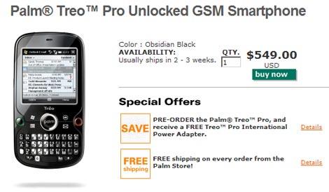 Treo Pro - Buy Now