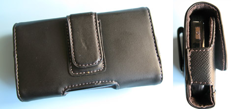 Treo Pro Leather Case - Back Belt Clip