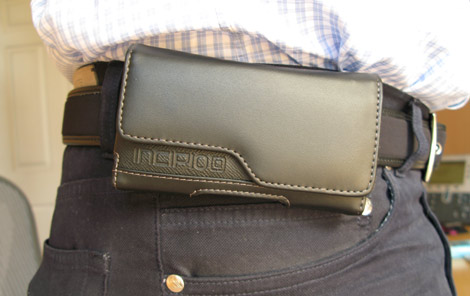 Treo Pro Leather Case - On Belt