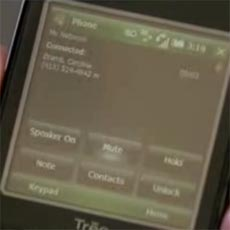 Treo Pro - Call Screen