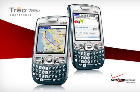 Verizon Treo 755p Launch