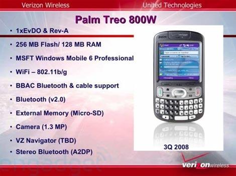 Verizon Treo 800w