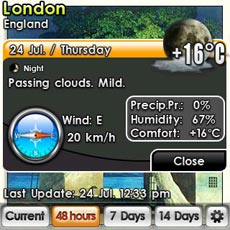 Weather - Detailed View