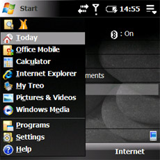 Windows-Mobile-Today-Start