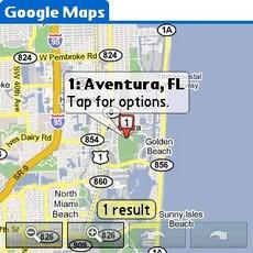 Google Maps v1.0 - Location Search